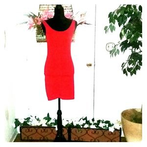 Forever 21 red tank dress size M